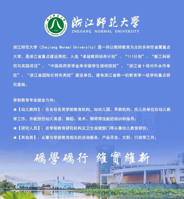 2021年浙江自考本科专业推荐